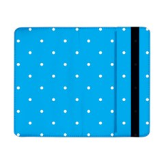 Mages Pinterest White Blue Polka Dots Crafting Circle Samsung Galaxy Tab Pro 8 4  Flip Case by Alisyart