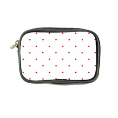 Mages Pinterest White Red Polka Dots Crafting Circle Coin Purse by Alisyart