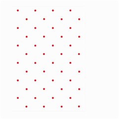 Mages Pinterest White Red Polka Dots Crafting Circle Large Garden Flag (two Sides) by Alisyart