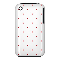 Mages Pinterest White Red Polka Dots Crafting Circle Iphone 3s/3gs by Alisyart