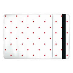 Mages Pinterest White Red Polka Dots Crafting Circle Samsung Galaxy Tab Pro 10 1  Flip Case by Alisyart