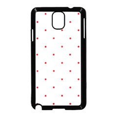 Mages Pinterest White Red Polka Dots Crafting Circle Samsung Galaxy Note 3 Neo Hardshell Case (black) by Alisyart