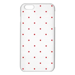 Mages Pinterest White Red Polka Dots Crafting Circle Iphone 6 Plus/6s Plus Tpu Case