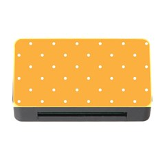 Mages Pinterest White Orange Polka Dots Crafting Memory Card Reader With Cf by Alisyart