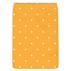 Mages Pinterest White Orange Polka Dots Crafting Flap Covers (s)