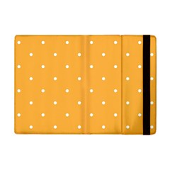Mages Pinterest White Orange Polka Dots Crafting Ipad Mini 2 Flip Cases