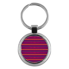Lines Key Chains (round)  by Valentinaart