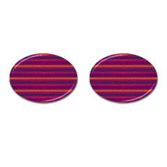 Lines Cufflinks (oval) by Valentinaart