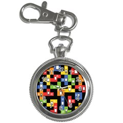 Mobile Phone Signal Color Rainbow Key Chain Watches by Alisyart