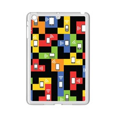 Mobile Phone Signal Color Rainbow Ipad Mini 2 Enamel Coated Cases