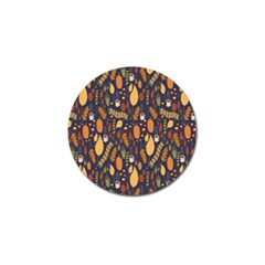 Macaroons Autumn Wallpaper Coffee Golf Ball Marker