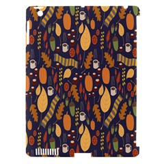 Macaroons Autumn Wallpaper Coffee Apple Ipad 3/4 Hardshell Case (compatible With Smart Cover) by Alisyart