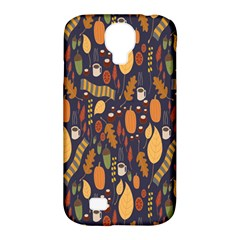 Macaroons Autumn Wallpaper Coffee Samsung Galaxy S4 Classic Hardshell Case (pc+silicone) by Alisyart