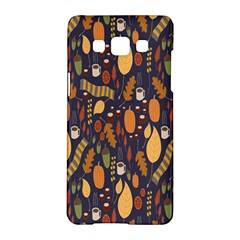 Macaroons Autumn Wallpaper Coffee Samsung Galaxy A5 Hardshell Case  by Alisyart