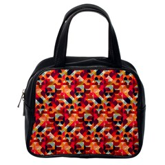 Modern Graphic Classic Handbags (one Side) by Alisyart