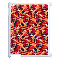 Modern Graphic Apple Ipad 2 Case (white) by Alisyart