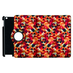 Modern Graphic Apple Ipad 3/4 Flip 360 Case by Alisyart