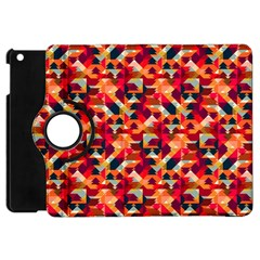 Modern Graphic Apple Ipad Mini Flip 360 Case by Alisyart