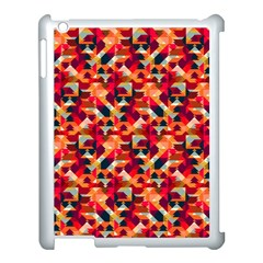 Modern Graphic Apple Ipad 3/4 Case (white)