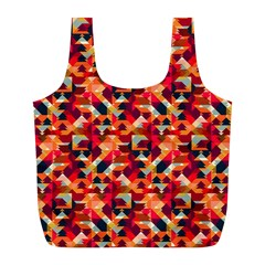 Modern Graphic Full Print Recycle Bags (l)  by Alisyart