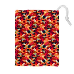 Modern Graphic Drawstring Pouches (extra Large) by Alisyart