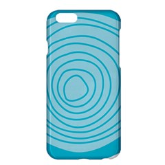 Mustard Logo Hole Circle Linr Blue Apple Iphone 6 Plus/6s Plus Hardshell Case by Alisyart