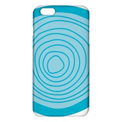 Mustard Logo Hole Circle Linr Blue Iphone 6 Plus/6s Plus Tpu Case by Alisyart