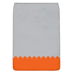 Orange Gray Scallop Wallpaper Wave Flap Covers (l)  by Alisyart