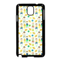 Kids Football Sport Ball Star Samsung Galaxy Note 3 Neo Hardshell Case (black)