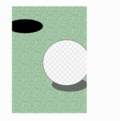 Golf Image Ball Hole Black Green Large Garden Flag (two Sides)