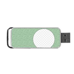 Golf Image Ball Hole Black Green Portable Usb Flash (two Sides) by Alisyart