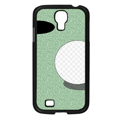 Golf Image Ball Hole Black Green Samsung Galaxy S4 I9500/ I9505 Case (black) by Alisyart