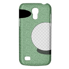 Golf Image Ball Hole Black Green Galaxy S4 Mini by Alisyart