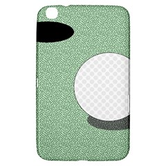 Golf Image Ball Hole Black Green Samsung Galaxy Tab 3 (8 ) T3100 Hardshell Case  by Alisyart