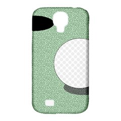 Golf Image Ball Hole Black Green Samsung Galaxy S4 Classic Hardshell Case (pc+silicone) by Alisyart