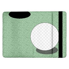 Golf Image Ball Hole Black Green Samsung Galaxy Tab Pro 12 2  Flip Case by Alisyart