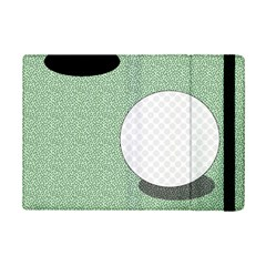 Golf Image Ball Hole Black Green Ipad Mini 2 Flip Cases by Alisyart