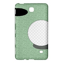Golf Image Ball Hole Black Green Samsung Galaxy Tab 4 (7 ) Hardshell Case  by Alisyart