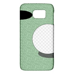 Golf Image Ball Hole Black Green Galaxy S6 by Alisyart