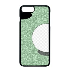 Golf Image Ball Hole Black Green Apple Iphone 7 Plus Seamless Case (black) by Alisyart