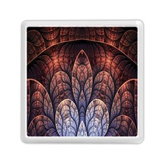 Abstract Fractal Memory Card Reader (square)