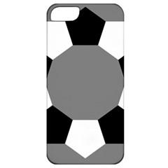 Pentagons Decagram Plain Black Gray White Triangle Apple Iphone 5 Classic Hardshell Case