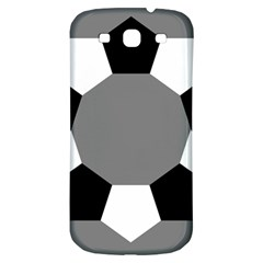 Pentagons Decagram Plain Black Gray White Triangle Samsung Galaxy S3 S Iii Classic Hardshell Back Case by Alisyart