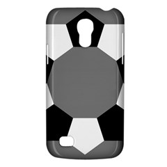 Pentagons Decagram Plain Black Gray White Triangle Galaxy S4 Mini