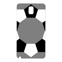 Pentagons Decagram Plain Black Gray White Triangle Samsung Galaxy Note 3 N9005 Hardshell Back Case by Alisyart
