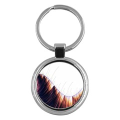 Abstract Lines Key Chains (round)  by Simbadda
