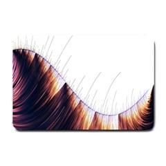 Abstract Lines Small Doormat  by Simbadda