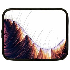 Abstract Lines Netbook Case (large) by Simbadda