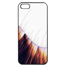 Abstract Lines Apple Iphone 5 Seamless Case (black)