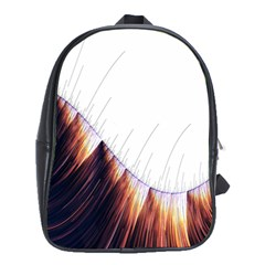 Abstract Lines School Bags (xl)  by Simbadda